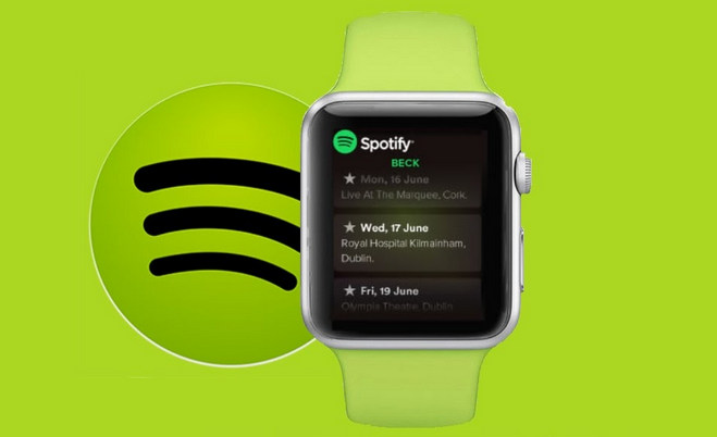 Apple Watch で Spotify の曲を再生