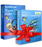 NoteBurner iTunes DRM 解除セット製品(Windows 用)